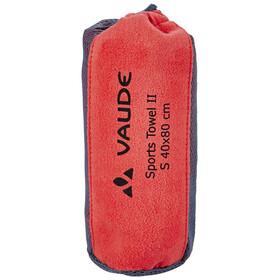 VAUDE Sports II Towel S flame
